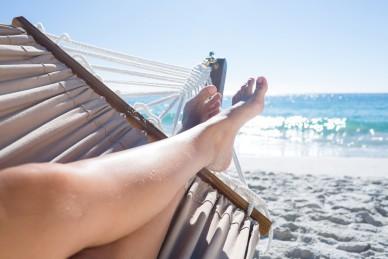 Voorz de vakantie onder zonnebank, is dat wel of niet goed?