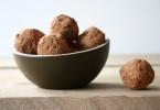 Gezonde chocolade truffels