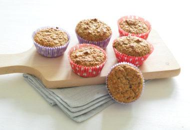 Gezonde muffins met banaan