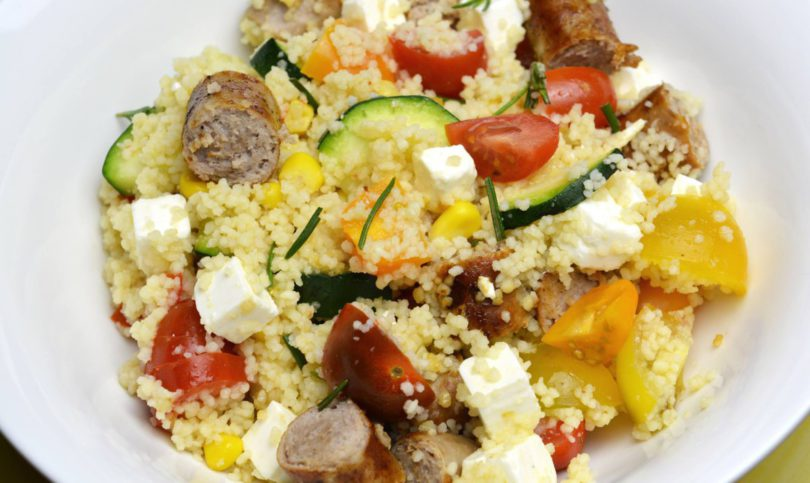 Recept: Couscous met een worstje