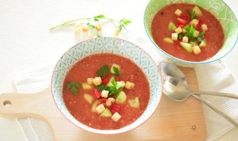 Recept: Gazpacho soep