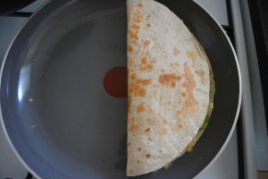 DSC 0842 300x200 - Recept: Quesadilla's kip avocado