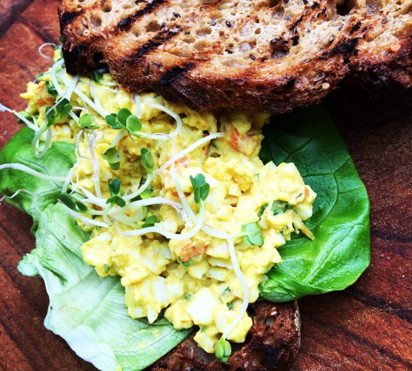 Recept: Surinaamse eiersalade