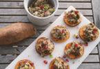 Makreel aubergine salade