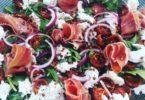 Salade van gedroogde tomaatjes uit de oven