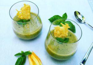 Creamy courgette soep zonder room