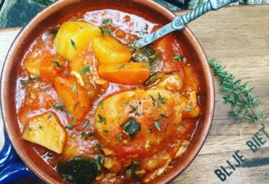 Italiaanse kippenstoof