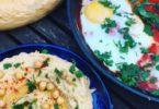 Shakshuka met hummus