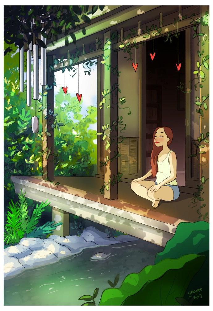 YaoyaoMVA GoodVibes - Woon je ook alleen? Dan herken jij jezelf vast in deze prachtige tekeningen