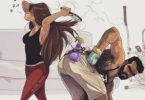 relationship drawings yehuda devir 12 59ed8ee3ac7a6  700 1 e1508936156732 145x100 - Prachtige tekeningen van het dagelijkse leven van een artiest en zijn vrouw