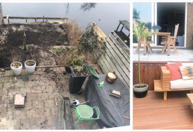 metamorfose 380x260 - Wij hebben onze tuin een metamorfose gegeven!