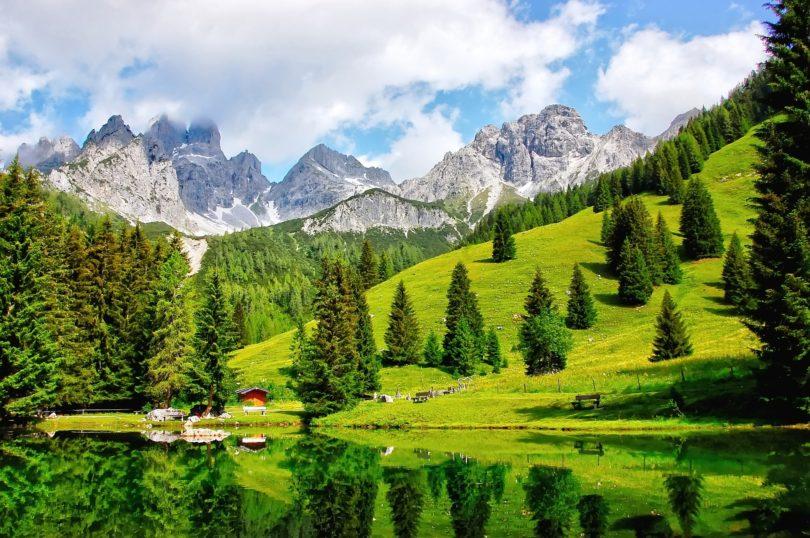 De mooiste wandelgebieden in Oostenrijk